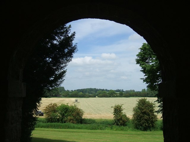 Rousham Gardens: the Meadow from the Pyramid