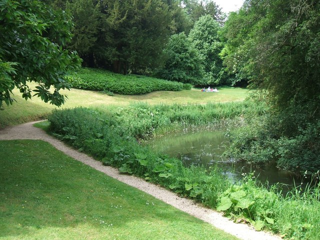 Rousham Gardens: the River Cherwell