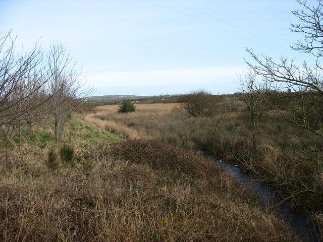 Afon Goch at Pont Pensarn