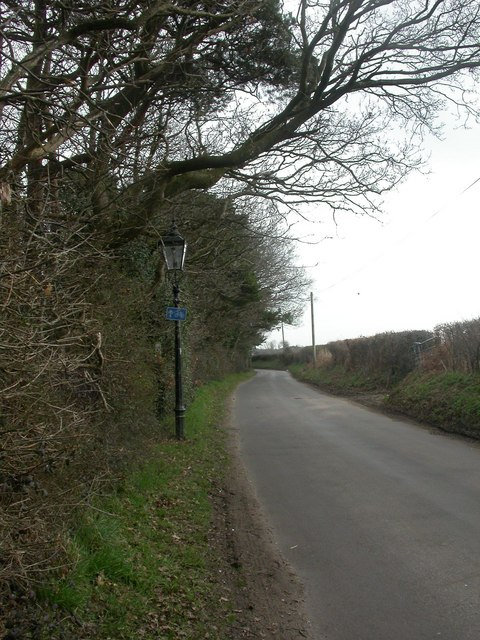 Holdenhurst, gas lamp no. 5