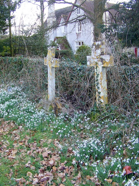Crosses, St John the Baptist Church, Woodsford