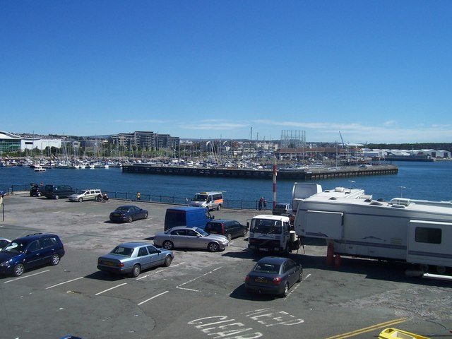 Plymouth : Car Park & Queen Anne's Battery