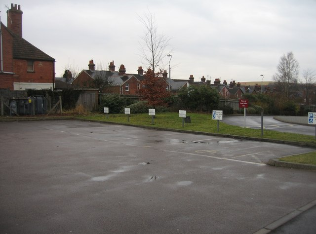 Disabled Parking - BCOT, north site