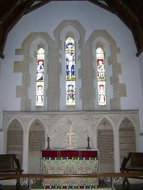 Interior, St John the Baptist Church, Woodsford