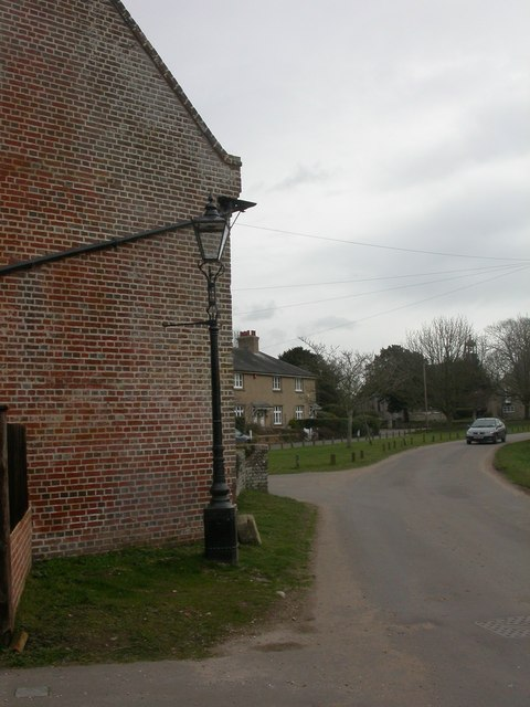 Holdenhurst, gas lamp no. 9