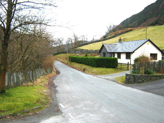 The road from Corris