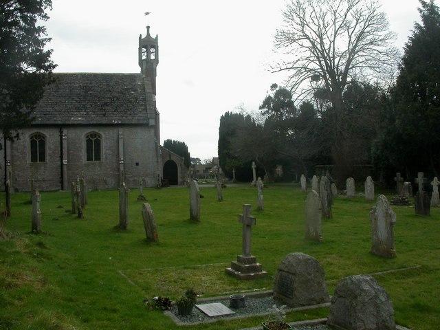 Holdenhurst, churchyard