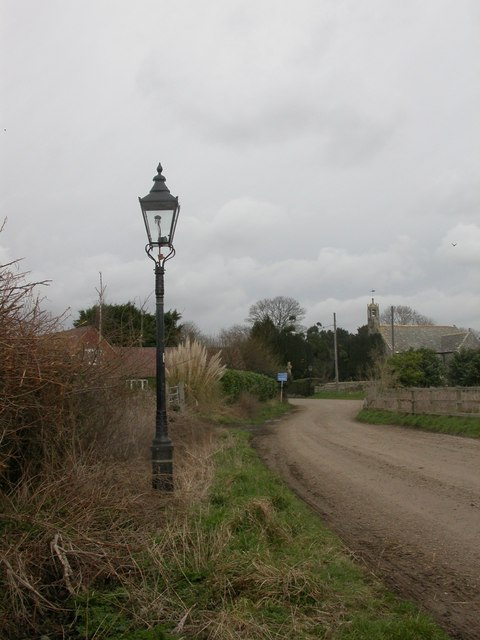 Holdenhurst, gas lamp no. 13