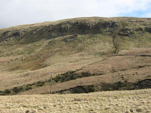 Crags on Mynydd y Waun