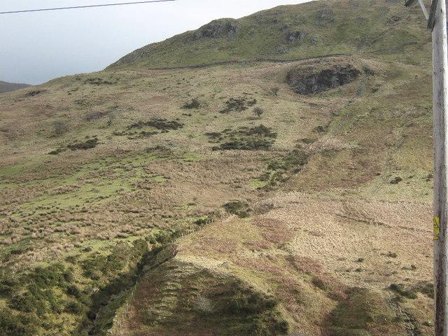 Hillside on Mynydd Ceiswyn