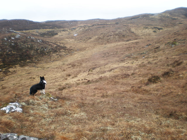 Moorland East of Loch Carn Tuairneir Beag