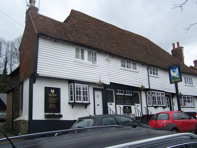 The Swan pub, Sutton Valence