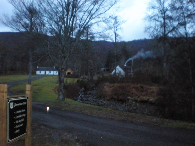 Entrance to Glenmoriston Estate, Levishie