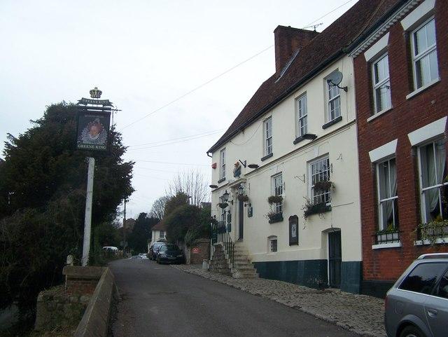 The Queen's Head pub, Sutton Valence