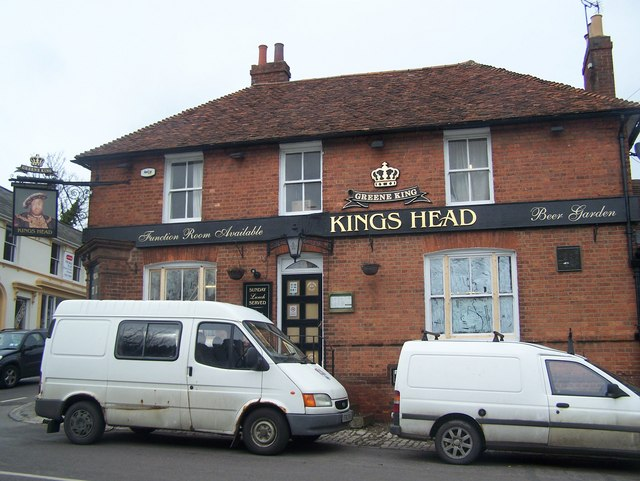 The King's Head pub, Sutton Valence