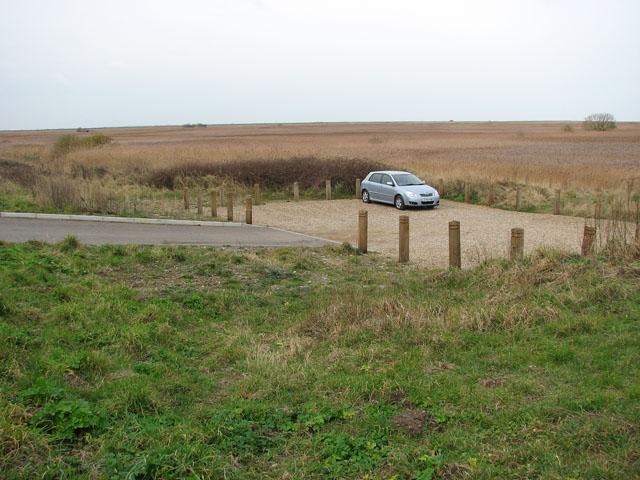 Car park by the Coast Road (A149)