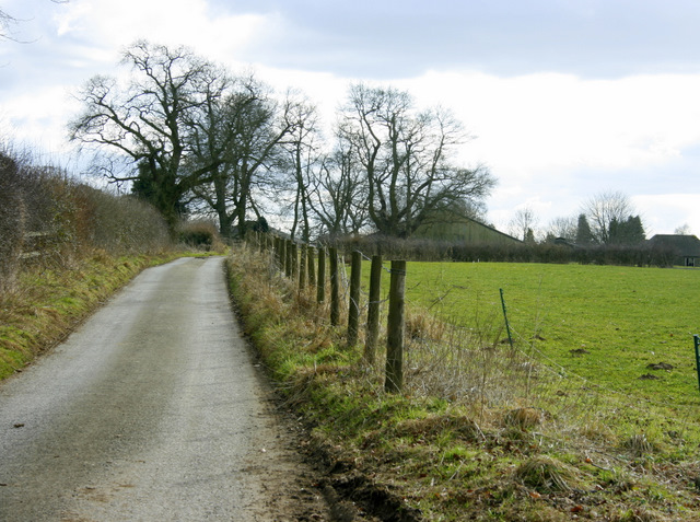 2009 : On the lane over Naish Hill