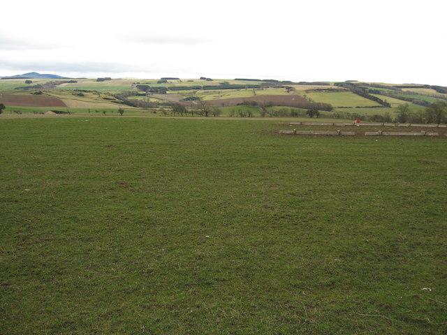 Grazing lands near Dryden Greenhill