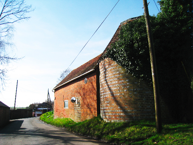 Unconverted Oast House on Cornford Lane, Pembury, Kent