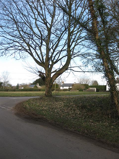 Road junction, Garway Common