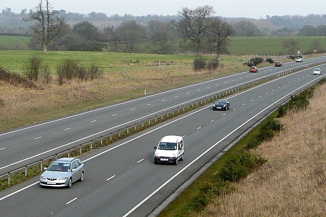 A34 looking north