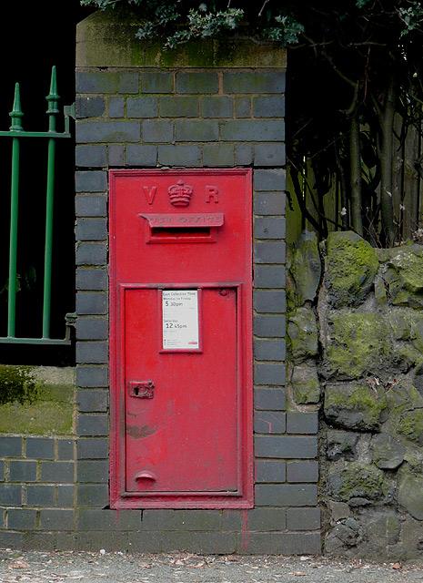 Victorian Post Box on Penn Road, Wolverhampton