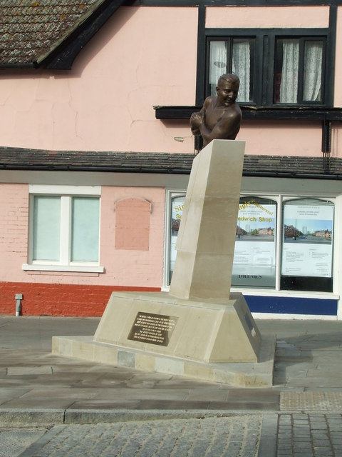 Rugby Hero Pilot Statue