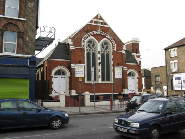 Church of God of Prophecy, Harlesden High Street