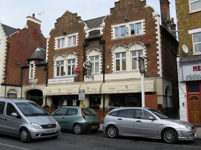 The 'Green Man', Harlesden High Street.
