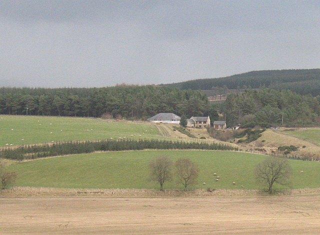 New house, Libberton Moor