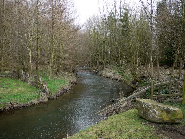 River Pont at north side of Benacres Plantations