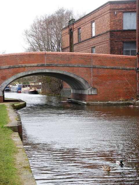 Bridgewater Canal, Mather Lane Bridge