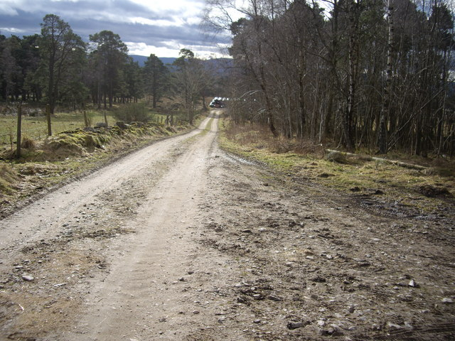 Track to Gordonstone