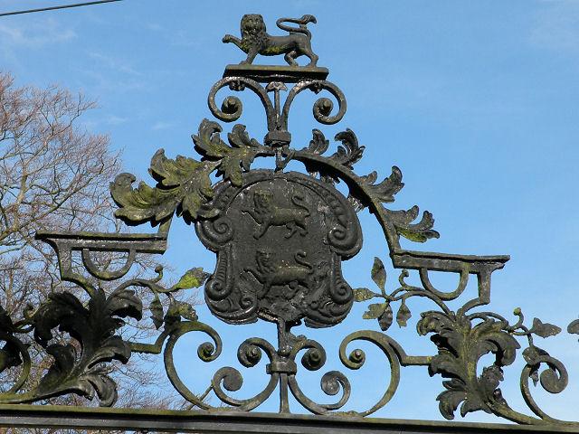 Bottisham Park Gateway detail