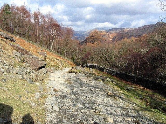 Bridleway: Grange to Seatoller