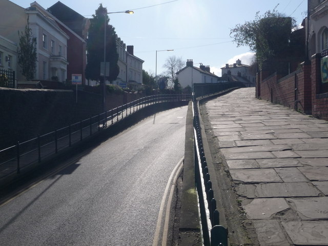 Newport: looking up Stow Hill