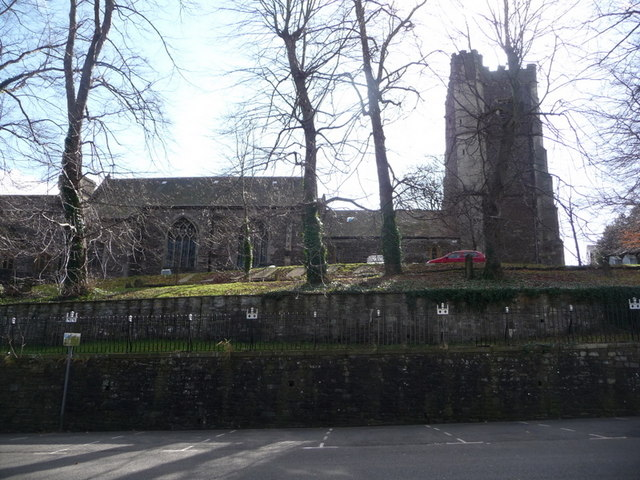 Newport: the cathedral from the north