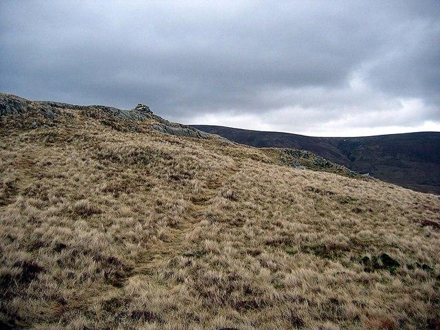 Beda Head summit cairn