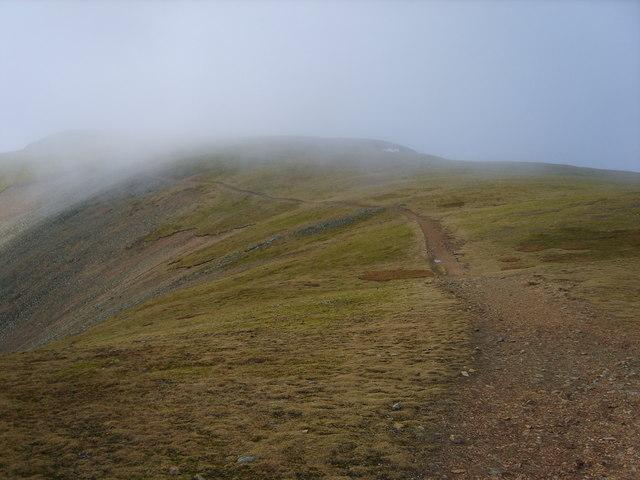 Ascending Grasmoor