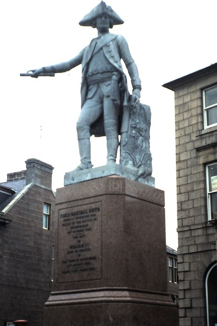 Statue of Field -Marshal James Keith