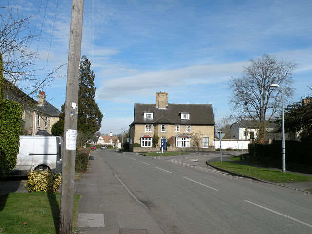 Swaffham Bulbeck, High Street 2009