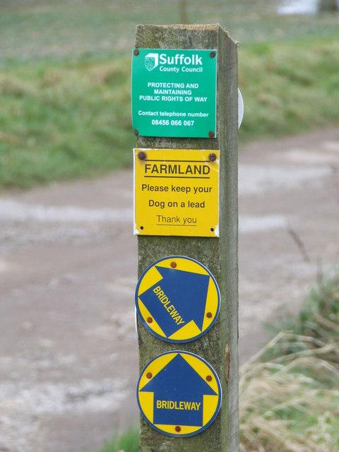 Footpath Signs