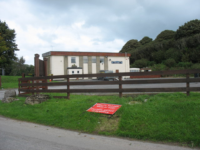 Social Club at the Benllech Rugby Grounds, Tynygongl