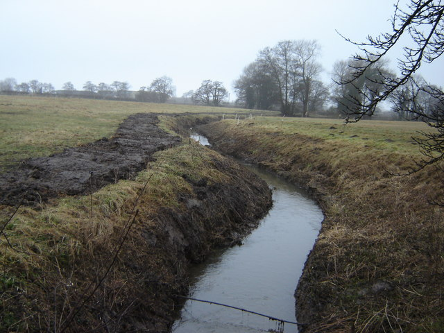 Hawkhills  Beck  cleaned  out