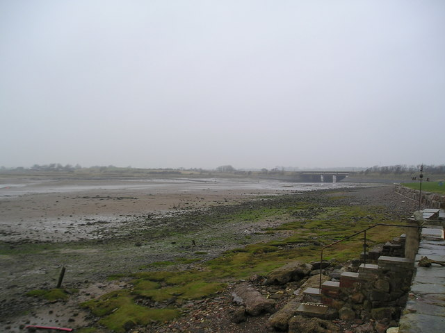 Ravenglass foreshore from the Millennium Garden
