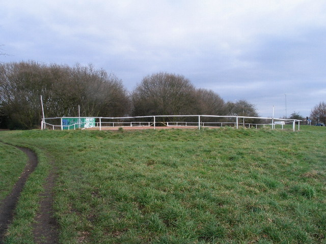 Cycle speedway track, Hearsall Common