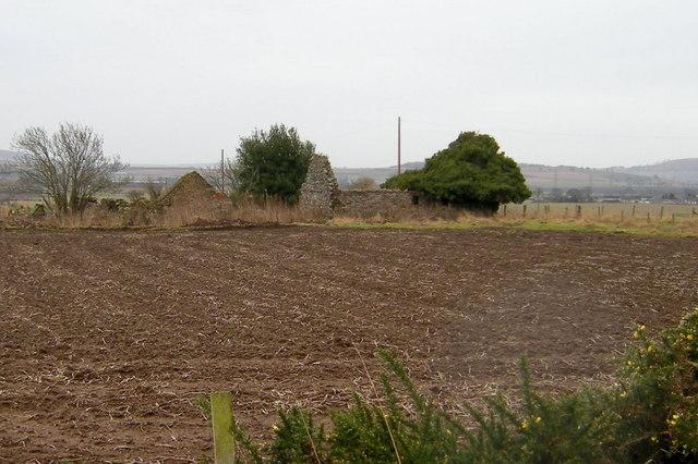 View of Cranshade  (Derelict Cottage)
