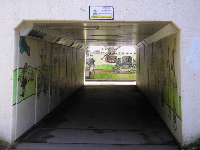 Underpass at Met Office Roundabout