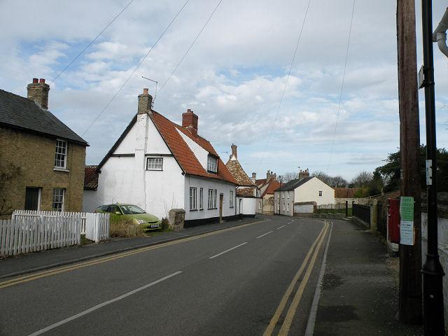Priory Cottage & High Street, Swaffham Prior