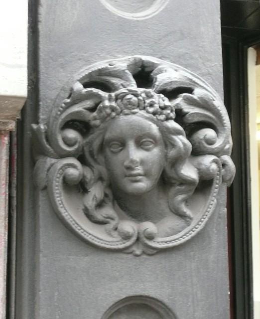 Cavalier's girl-friend, Town Hall Street, Sowerby Bridge